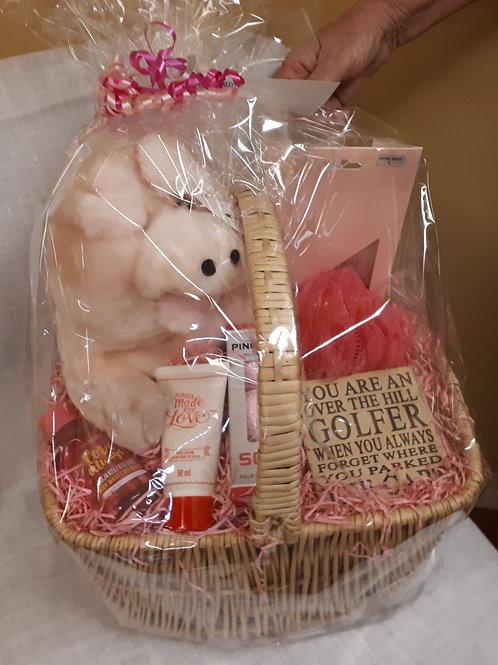 Gift Basket-Ladies Golf