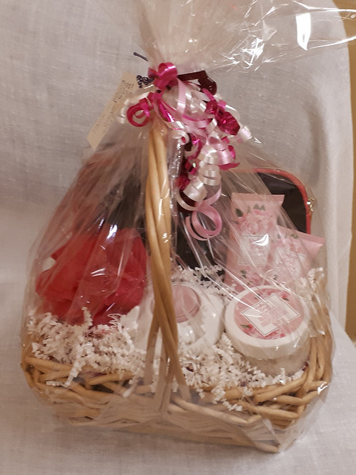 Gift Basket-Pretty In Pink