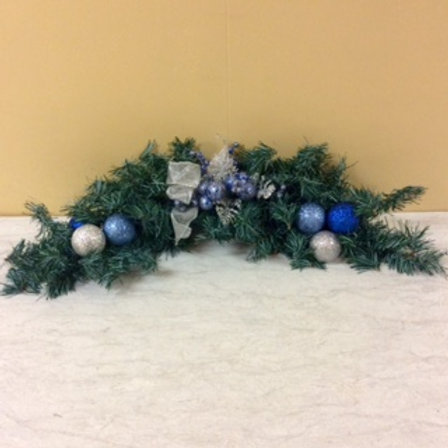 Christmas Decor-Blue Christmas Swag