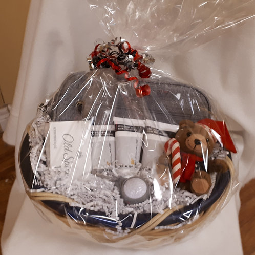 Gift Basket-Men's Spa Package