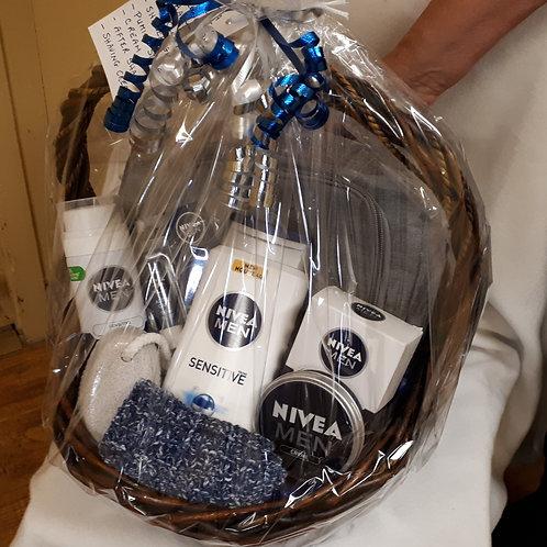 Gift Basket-Men's Nivea Spa