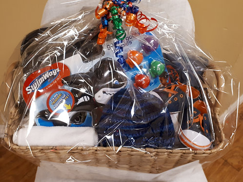 Gift Basket for a Boy 6-12 Mths