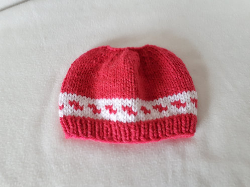 Knitted Ponytail hats
