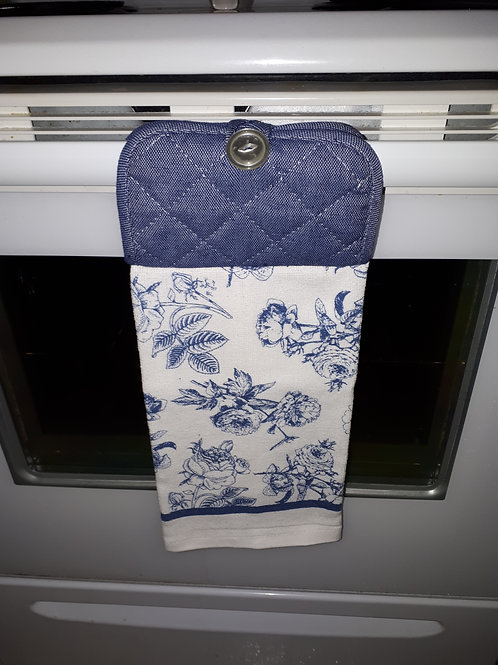 Kitchen-Hand Towel - Blue