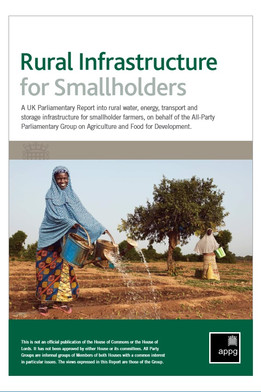Rural infrastructure for smallholders