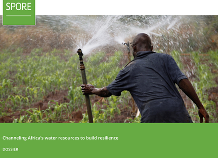Channeling Africa's water resources to build resilience