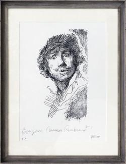 Bonjour Monsieur Rembrandt