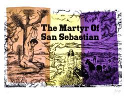 The martyr of San Sebastian