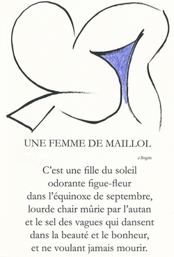 UNE FEMME DE MAILLOL