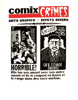 Comix crimes