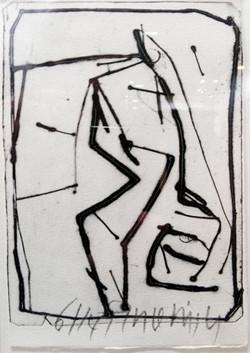 POINTE SECHE 21 x 14 cm