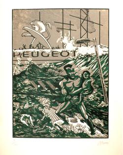 Le déluge (d'après Gustave Doré)