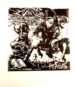 Las plagas (commande de et pour Manuel Ocampo)