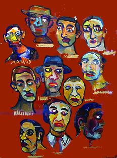 Sauf Artaud 70x50 cm