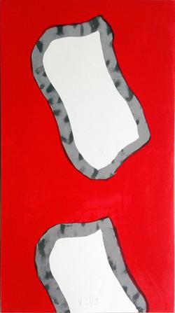 Sérigraphie Florac 82x44 cm. 2012