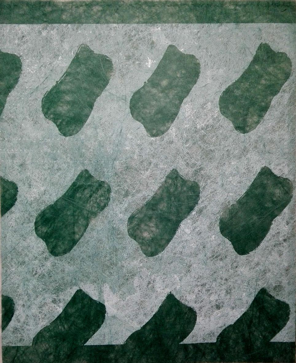 Monotype sur intissé 80x65cm. 2008