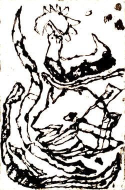 Le dauphin 100 x130