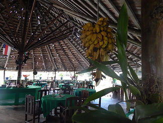 Restaurante à Malocas Lodge