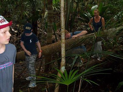caminhanda na floresta à Malocas Lodge