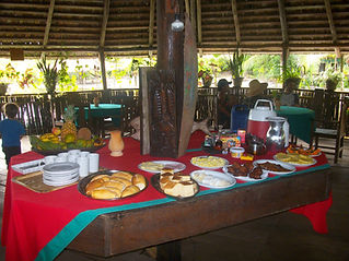 cafe da manha à Malocas Lodge
