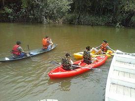 descendo o rio com Malocas Lodge