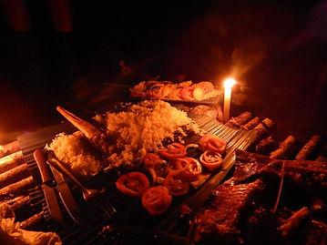 jantar  na sobrevivencia