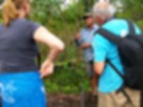 visite au natif à Malocas Lodge