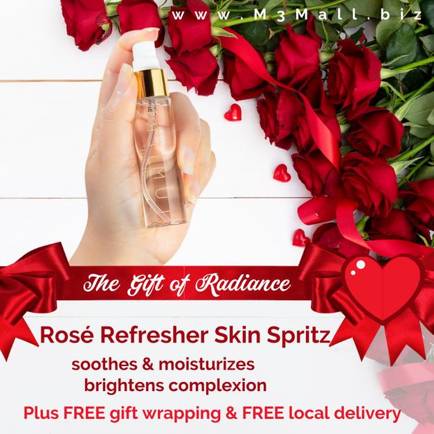 Valentine's Rosé Refresher Spray