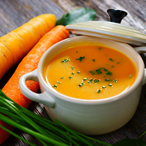 Easy Chilled Carrot Soup