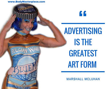 Advertising quote by Marshall McLuhan