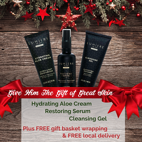 Holiday Men's Skin Care Bundle