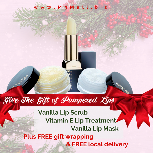 Holiday Pampered Lip Bundle