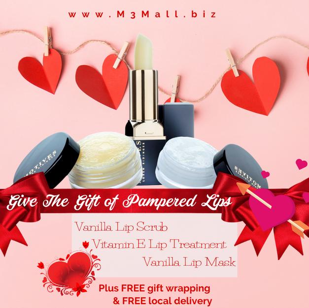 Valentine Pampered Lip Bundle
