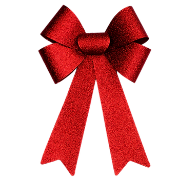Red Christmas Bow.png