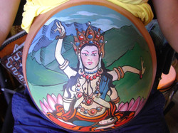 Mongolian arm dancer