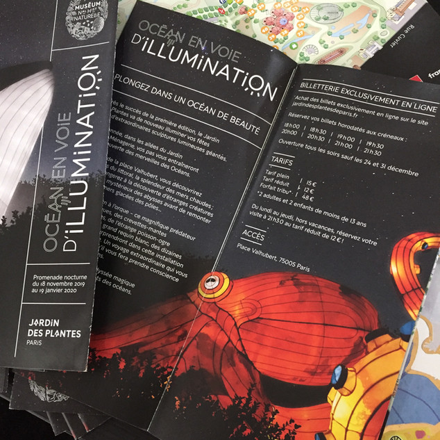 Exhibition Map & Flyer