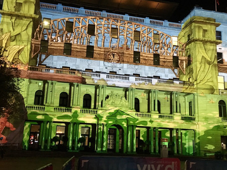 Launch of Customs House for Vivid Sydney