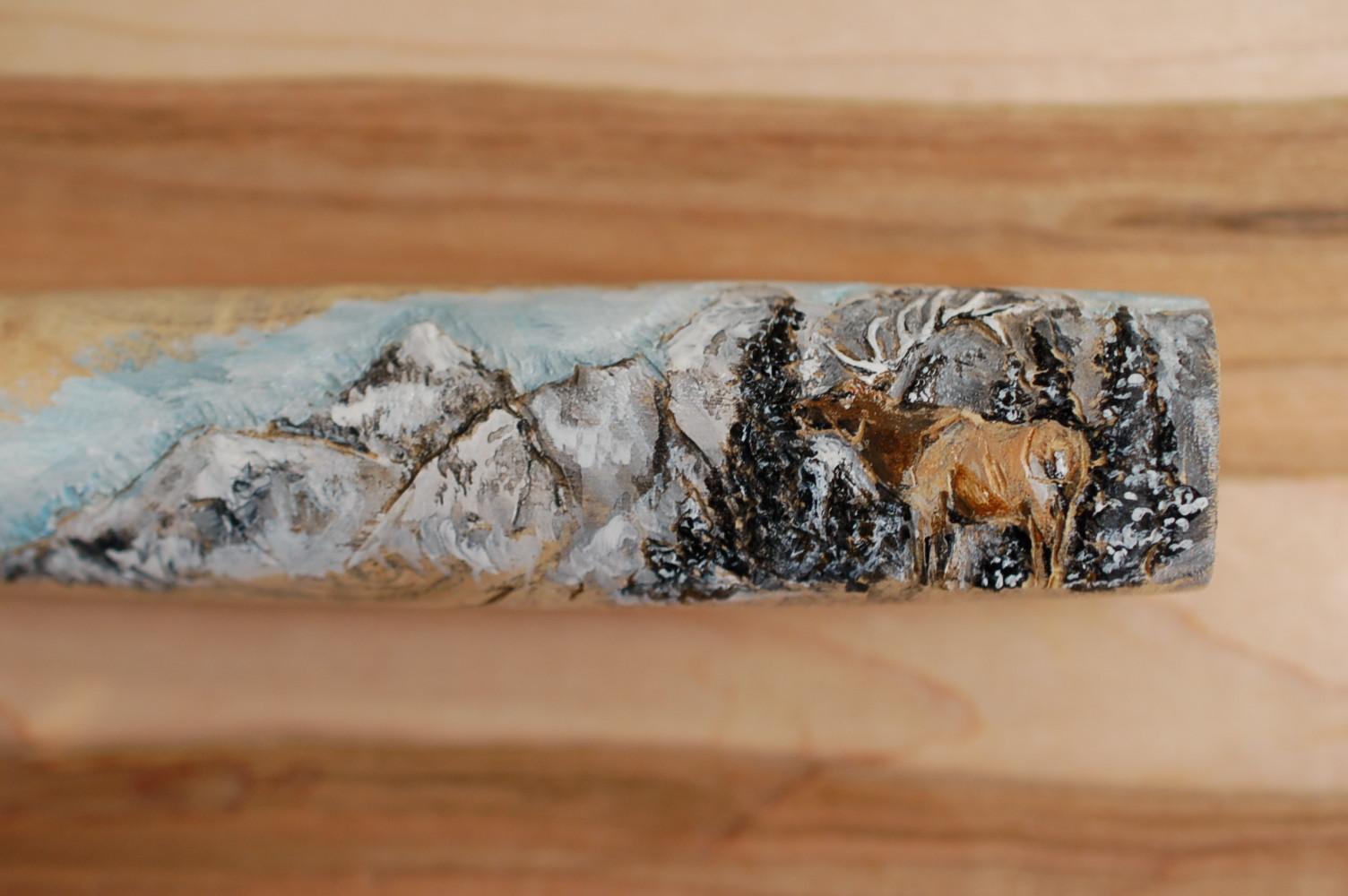 Perry Knife - Elk - Detail