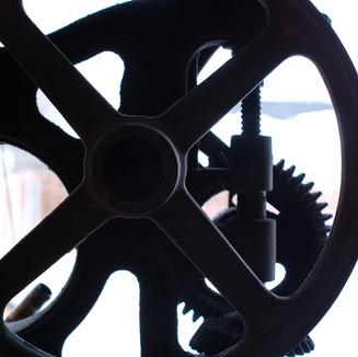 Our Antique Drill Press
