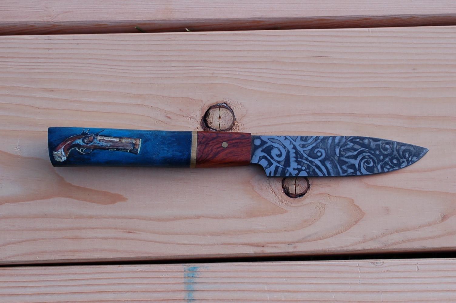 Paring Knife - Pirate