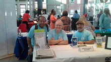 9/8/2014 raising awareness at Negro League Baseball Museum