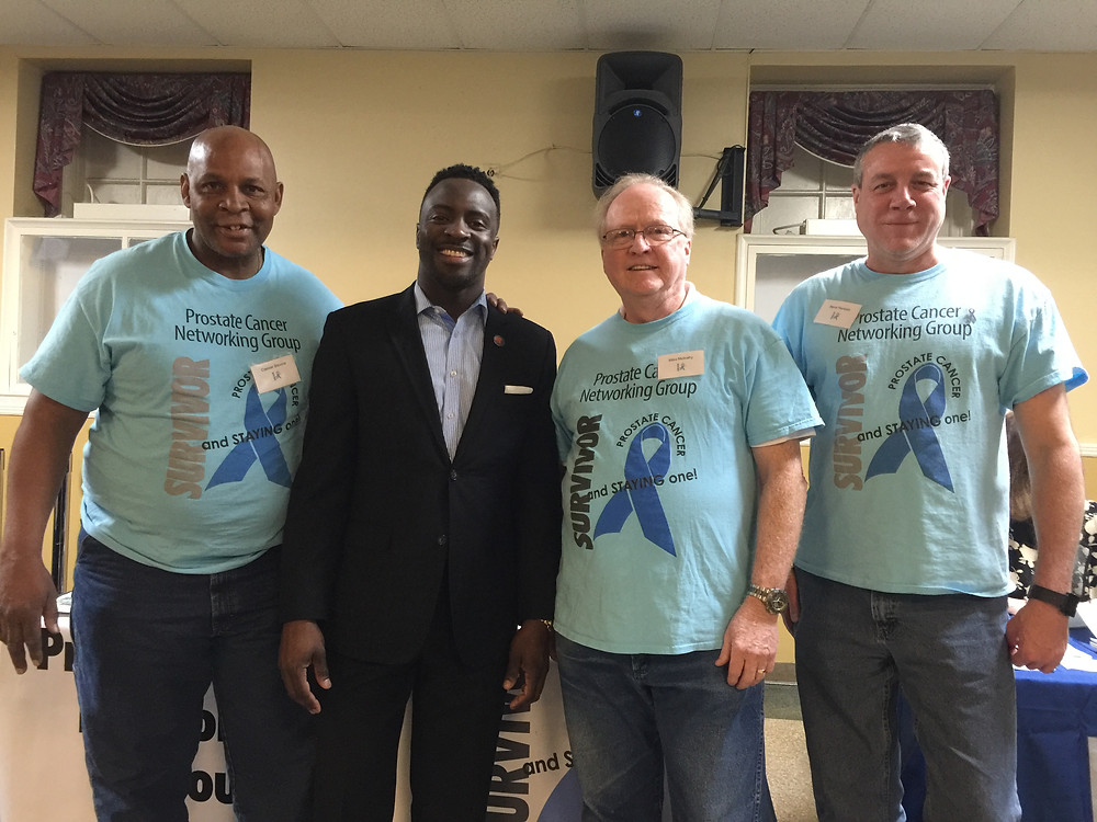 @JermaineReed Kansas City Missouri Council member 3rd district & @prostatenetwork survivors #StrongerTogether