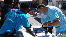 9/13/2014 Raising awareness at KC Fun & Fitness Day with Calvary Community Outreach Network