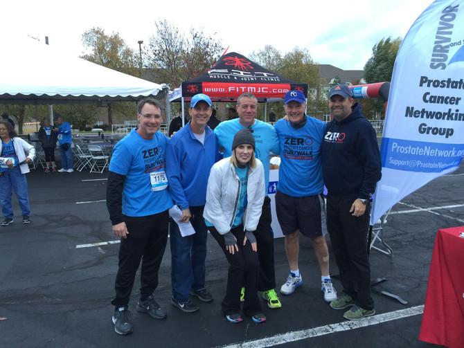ZERO Cancer run/walk in KC