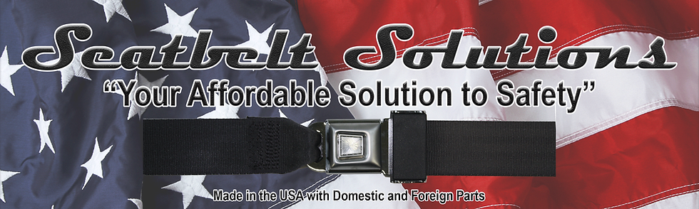 Highest quality aftermarket seatbelts for a wide range of vehicles