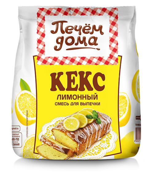 """Смесь для выпечки """"Кекс Лимонный"""""""
