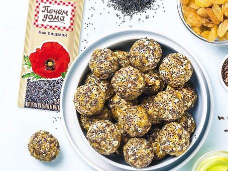 Конфеты из сухофруктов и орехов за 5 минут