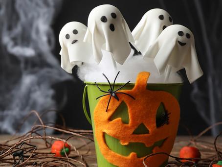 Кейк-попсы к Хеллоуину
