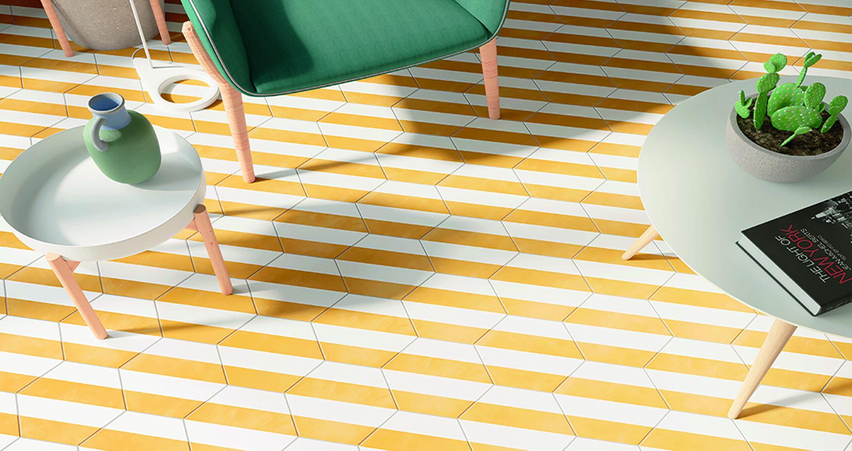 Lili Stripe Yellow