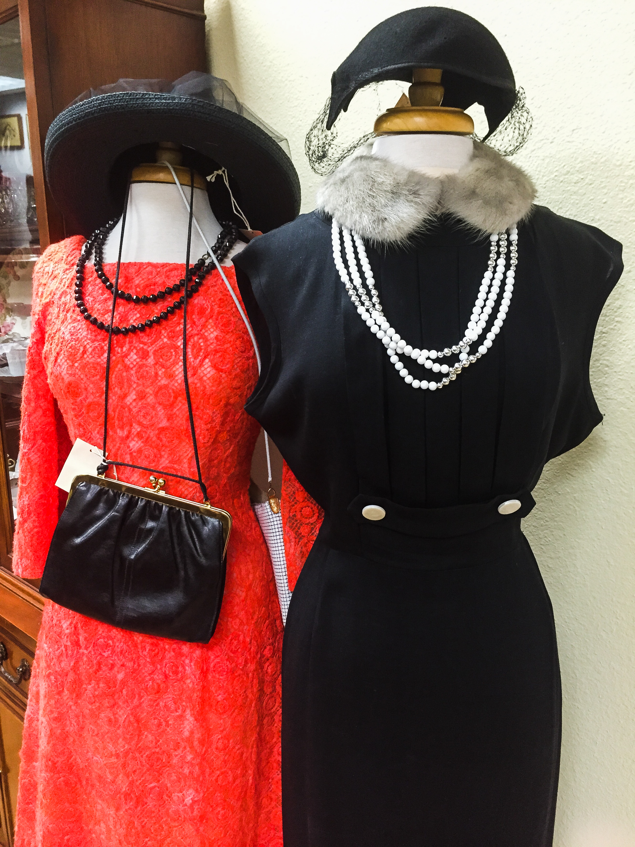 We carry vintage clothing!